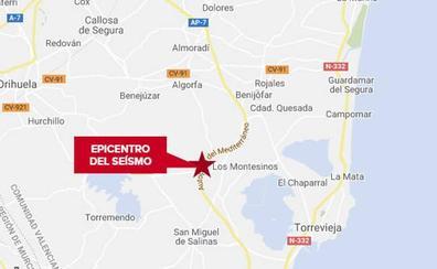 La Vega Baja registra un terremoto de 1,8 grados