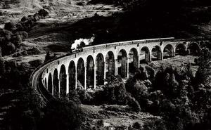 La complicidad contemplativa del tren