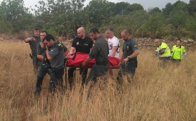 Rescatan a un anciano con Parkinson que cayó en un campo de Llíria