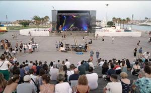 El PP denuncia que se montaron las infraestructuras del concierto de la Nit a la Mar antes de adjudicarse el concurso