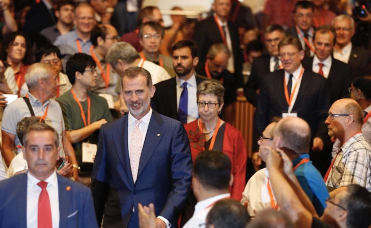 El Rey inaugura en Valencia el Congreso Internacional de Matemática Industrial Aplicada 2019