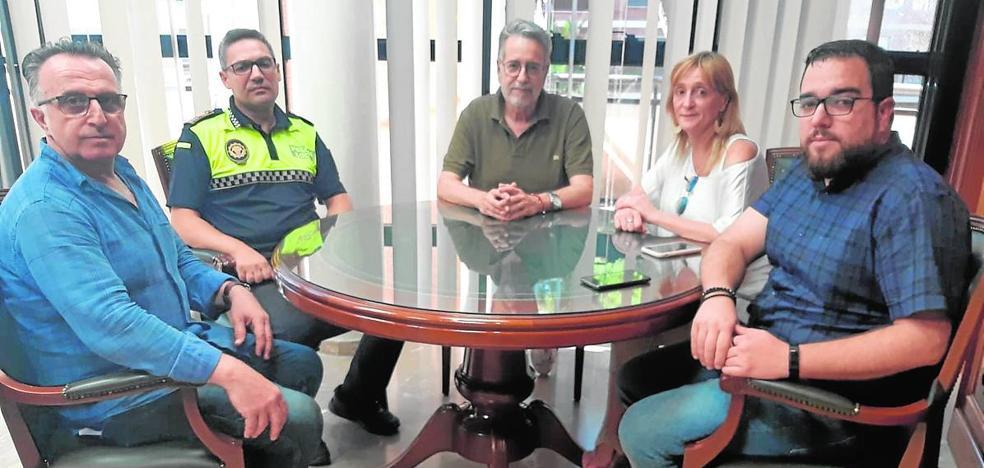 El consistorio de Albal aborda el tema de la seguridad en los comercios locales