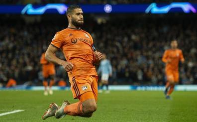 El Valencia, interesado en Nabil Fekir, según 'l'Équipe'