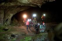 Rescatadas las tres espeleólogas desaparecidas en una cueva en Cantabria