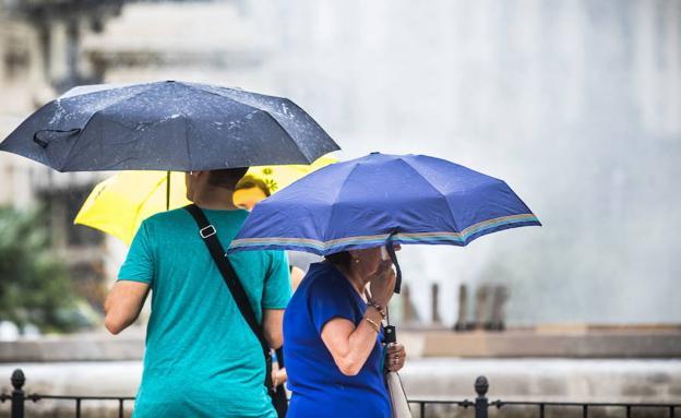 Las tormentas de verano harán acto de presencia este martes en la Comunitat