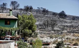 Estabilizado y sin llamas el incendio de Beneixama
