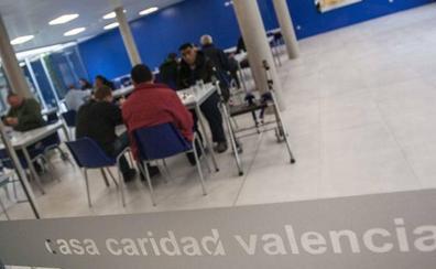 Casa Caridad alerta de que la falta de oportunidades laborales cronifica la pobreza en Valencia
