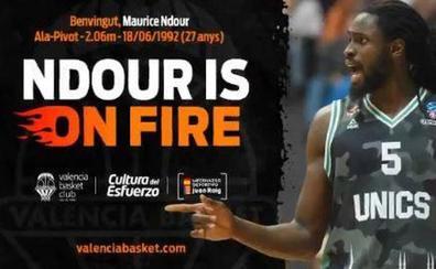 El Valencia Basket ficha a Maurice Ndour