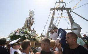 Celebración en honor a la Virgen del Carmen