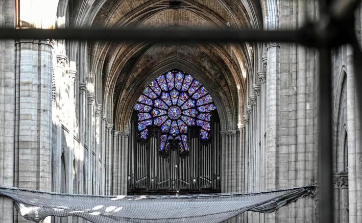 Un paseo por la recuperación de Notre Dame
