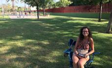 Verano en el parque de La Canaleta de Mislata