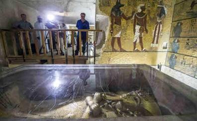 El sarcófago de Tutankamón se restaura por primera vez desde su descubrimiento