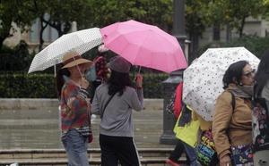 Hoy, lluvias fuertes y tormentas en varios puntos de la Comunitat