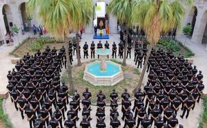 PRESENTACIÓN DE 203 POLICÍAS EN PRÁCTICAS
