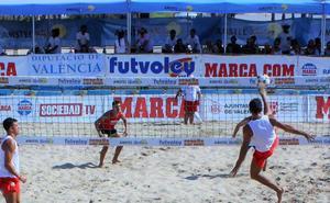 El futvoley regresa a la arena de Valencia