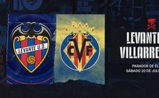 Horario del Levante UD vs Villarreal y dónde ver en directo el partido de pretemporada