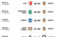 Valencia vs Mónaco: horario y dónde ver por televisión el partido de pretemporada