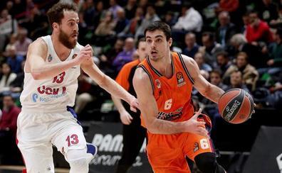El Valencia Basket comenzará la Euroliga ante el CSKA Moscú