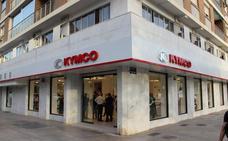 Kymco estrena su nueva filial en la céntrica avenida del Cid