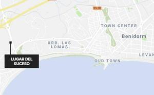 Muere un motorista de 20 años en un accidente en Benidorm