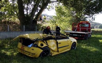 Un taxista avisa de un accidente en Salamanca sin saber que su sobrina de 17 años es una de las tres víctimas mortales