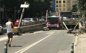 El túnel de Guillem de Castro reabre hoy tras más de 16 horas cerrado al tráfico