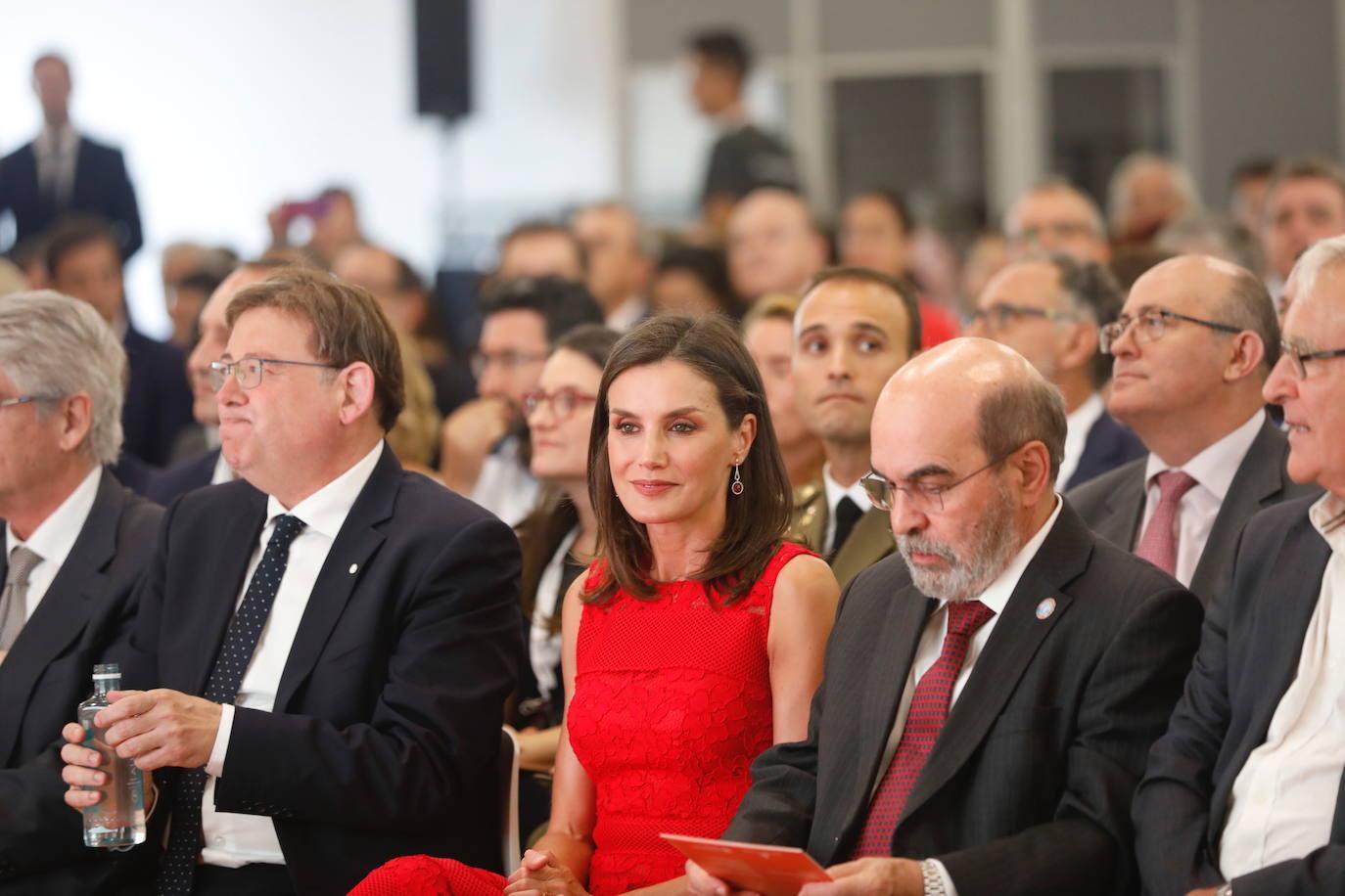 La Reina Letizia preside en Valencia la presentación del Centro Mundial para la Alimentación Sostenible