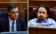 Podemos pide de nuevo las carteras sociales en un gobierno de coalición antes de retomar la negociación con el PSOE