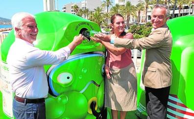 Banderas verdes para premiar la apuesta por el reciclaje del vidrio