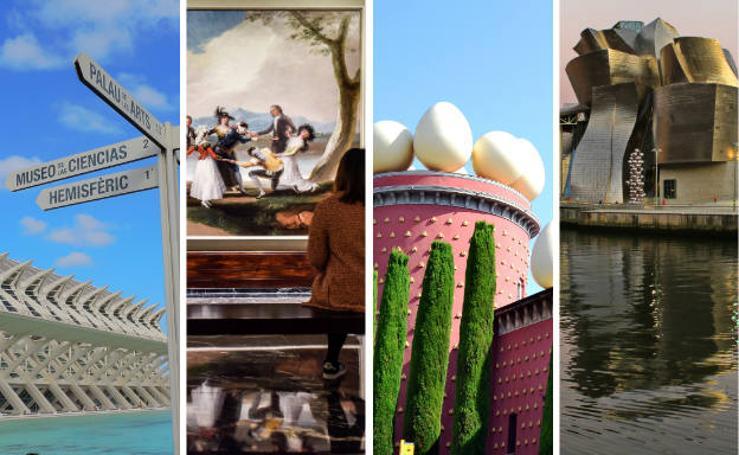 Las ciudades españolas preferidas por los viajeros para visitar museos