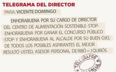 Telegrama para Vicente Domingo