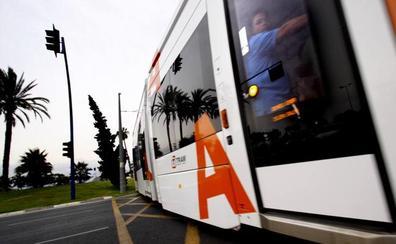 El Tram atropella a una mujer en Alicante