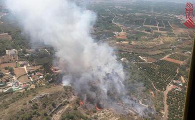 Estabilizado el incendio de Rafelguaraf