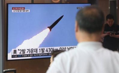 Corea del Norte prueba un nuevo misil de corto alcance
