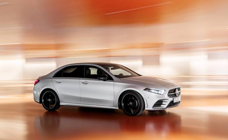 Mercedes Clase A Sedán, la berlina compacta en imágenes