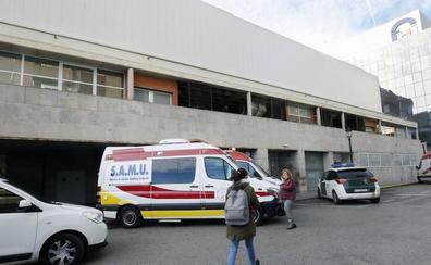 Herido un motorista de 63 años en un accidente en el Paseo de la Alameda de Valencia