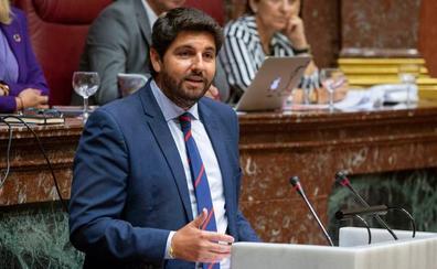 López Miras, investido presidente de la Región de Murcia con el apoyo de Ciudadanos y Vox