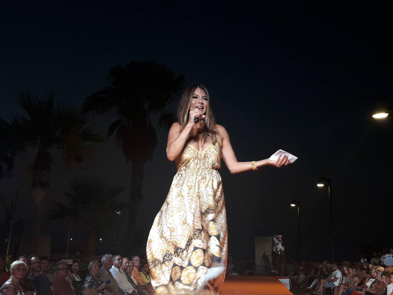 Ivonne Reyes, en la velada de la moda de Dénia