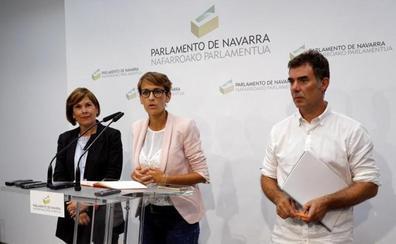 Bildu propone a sus bases facilitar la investidura de la socialista Chivite en Navarra