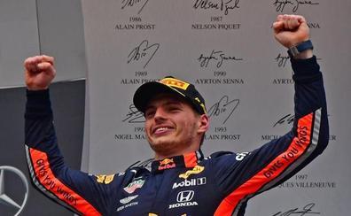 Verstappen logra una victoria 'rompeapuestas' en Hockenheim