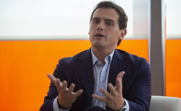 Albert Rivera. /Óscar Chamorro