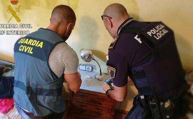 Cuatro detenidos por robar en 20 chalets de Chiva, Godelleta y Vilamarxant