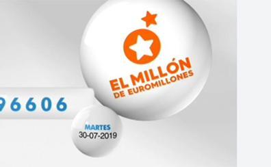 Un nuevo millonario en el sorteo de Euromillones del martes 30 de julio