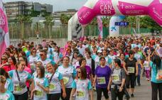 Valencia marcha contra el cáncer en un circuito solidario