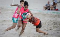El tradicional Seven Safor de rugby playa cumple 25 años en Gandia