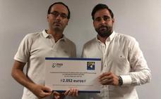 Periodistas Valencianos entrega su cheque solidario