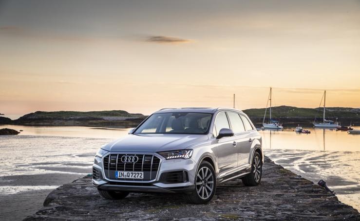 Audi Q7, las imágenes de un SUV de más de cinco metros
