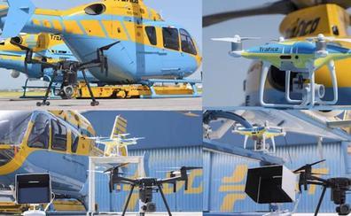 Los drones de la DGT, activos para multar