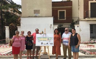 El barrio de San Marcelino estrenará plaza para sus fiestas