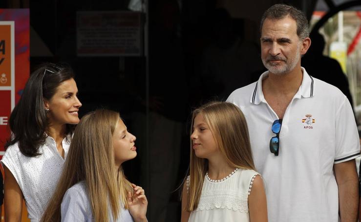 Los Reyes ya están de vacaciones en Palma